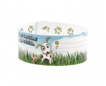 Dog plastic wristband for kids