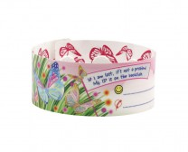 Butterfly plastic wristban for kids