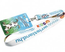 Dog 3D card and Lanyard for kids